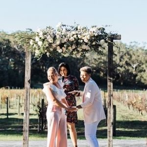 Becky Married Me Marriage Celebrant Adamstown NSW