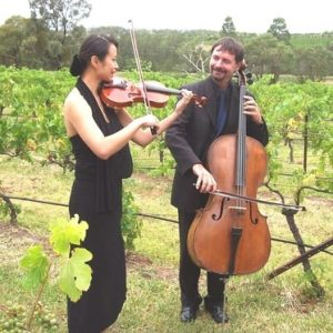 two play strings wedding muscians charlestown nsw