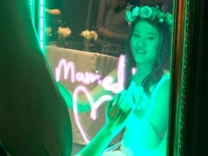 Mirror Booth Wedding Photo Booth Hire Newcastle NSW