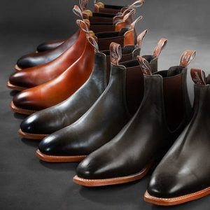 Gentlemens Outfitters City RM Williams Wedding Boots Newcastle NSW