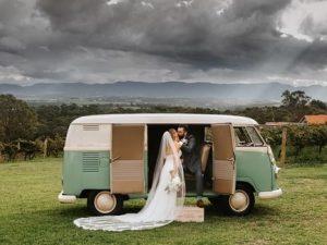 Foreshore Kombi Hire for Weddings Newcastle NSW