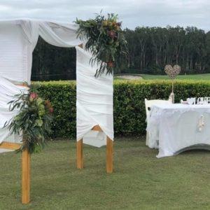 Horizons Golf Resort Wedding Ceremony Venue Bobs Farms NSW