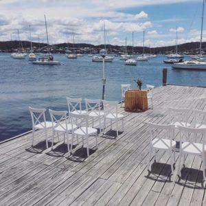 Lake Macquarie Yacht Club Wedding Ceremony Belmont NSW