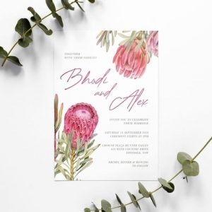 Mok Design and Craft Wedding Invitations Newcastle NSW