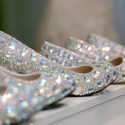 The Crystal Slipper Wedding Heels - Warners Bay NSW