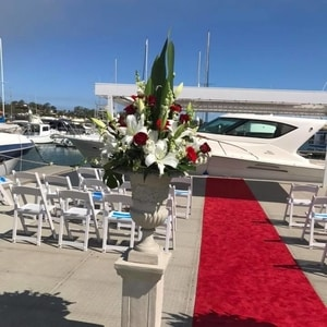 Soldiers Point Marina - weddings afloat NSW Wedding Ceremony Venue